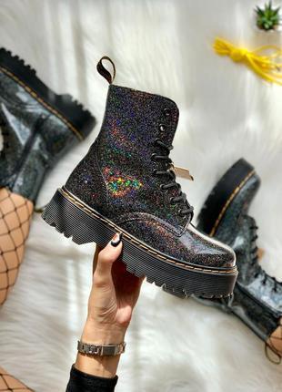 Dr. martens jadon galaxy 🆕 шикарные ботинки доктор мартинс 🆕 к...