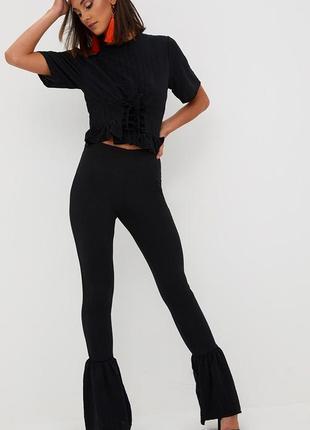 Модные брюки штаны лосины prettylittlething