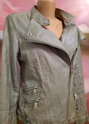 Куртка косуха из экокожи