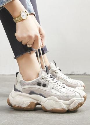 Кроссовки кеды в стиле balenciaga ugly shoes тренд