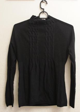 Черный свитер,теплый свитер,свитер на осень-зиму