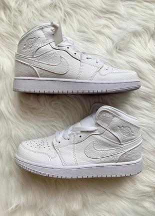 Nike air jordan 1 retro full white 🆕 шикарные кроссовки най 🆕 ...