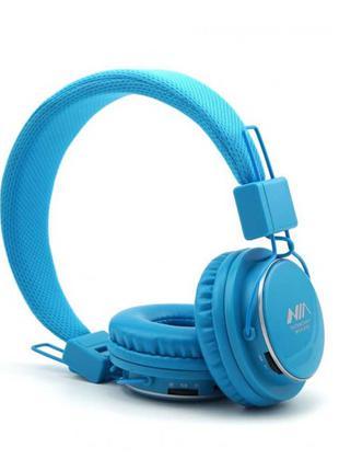 Беспроводные Bluetooth стерео наушники NIA Q8-851S с МР3