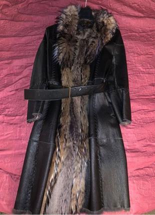 Продам натуральную кожаную дубленку