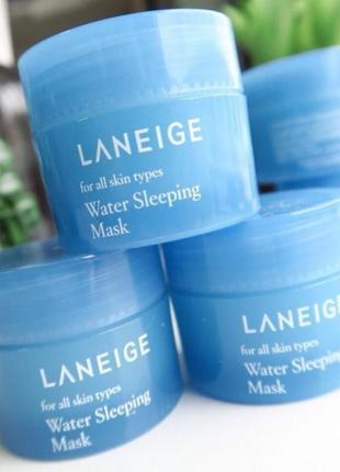Ночная интенсивно увлажняющая маска laneige water sleeping mas...