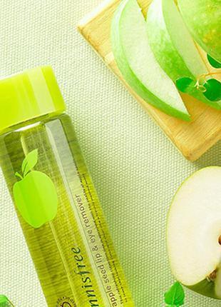 Средство с экстрактом яблока для снятия макияжа с губ и глаз i...