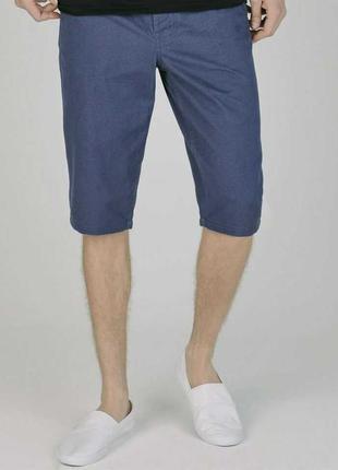 Мужские шорты чиносы плотный котон трендовые пуговицы