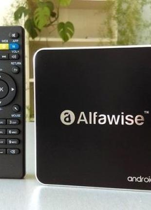 Тв бокс приставка андроид Alfawise A8 2Gb/16Gb (Tv box X96 M8S...