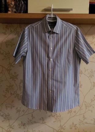 Рубашка мужская шведка marks&spenser классика ворот 38