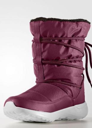 Женские сапоги adidas cloudfoam race winter aq1644