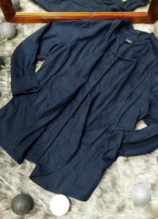 Пиджак жакет из смеси льна и вискозы m&co