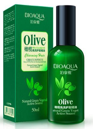 Масло для волос с экстрактом оливы bioaqua olive oil
