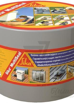 Sika®MultiSeal T - Самоклейкая герметизирующая битумная лента, 1м