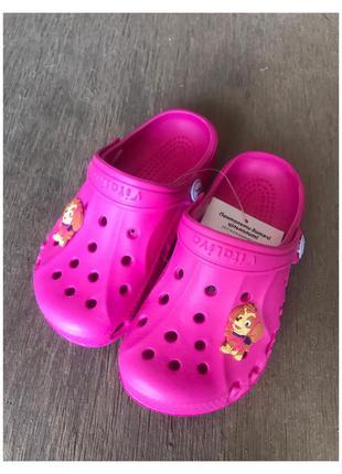 Новые детские кроксы, тапочки, шлепки