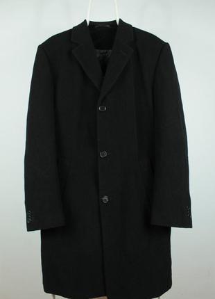 Шикарное классическое шерстяное пальто renato cavalli