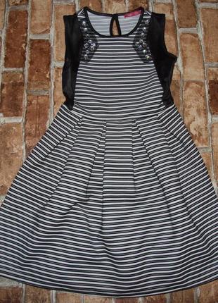 Платье нарядное 7-8 и 12-13 лет сток