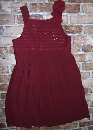 Платье нарядное хб 12-13 лет nutmeg сток