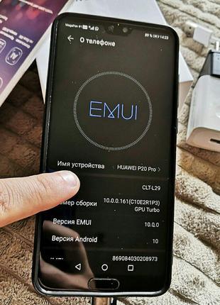 Телефон Huawei P20 Pro (модель CLT-L29) 4 / 128 gb