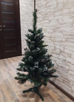 Ялинка штучна елка искусственная 150 см з шишками /+опт дропши...