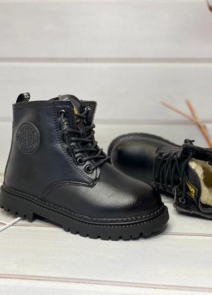 Зимние ботинки для модных девочек