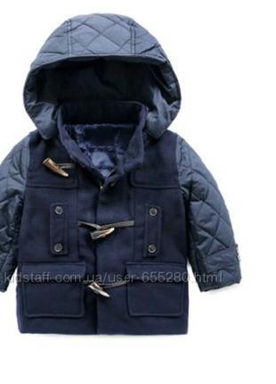 Пальто куртка мальчик 95 104 110 рост