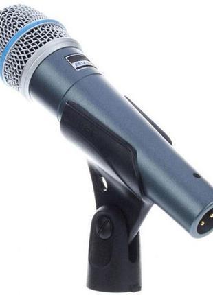 Микрофон вокальный проводной Shure Beta 57A,Sm58,Sm57.