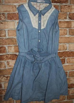 Платье джинс 12-13 лет yd сток
