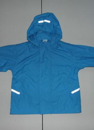 Куртка-дождевик papagino на мальчика 3-4 лет, рост 98/104