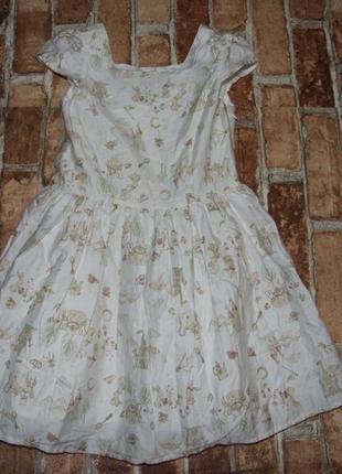 Платье нарядное 5-6 лет сток