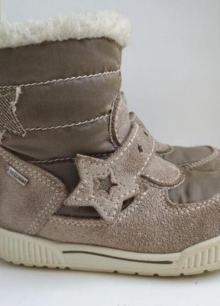 Зимние ботинки primigi gore tex р.23