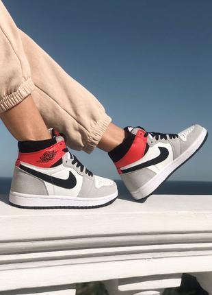 Nike Air Jordan Retro 1 Grey/Red