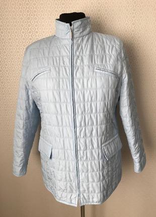 Красивая демисезонная стёганная куртка от gerry weber, размер ...