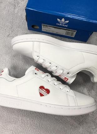 Женские белые кроссовки \кеды адидас adidas stan smith white.