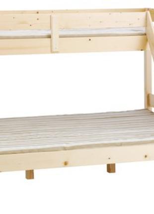 Кровать двухярусная VESTERVIG 90/140x200, цвет Натура