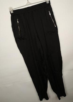 Штаны брюки новые легкие стильные на резинке river island uk 1...