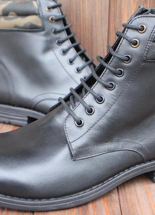 Новые ботинки feud кожа англия 44р