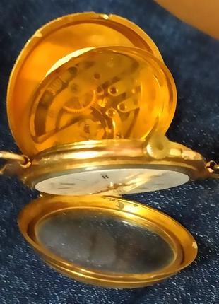 Золотые часы Henry Moser 19век