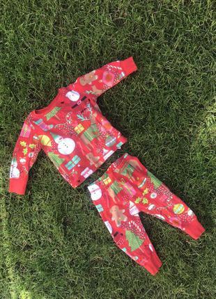 Новогодний костюм next, новогодняя пижама next