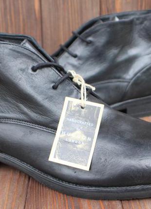 Новые ботинки hudson london кожа англия 42р дезерты