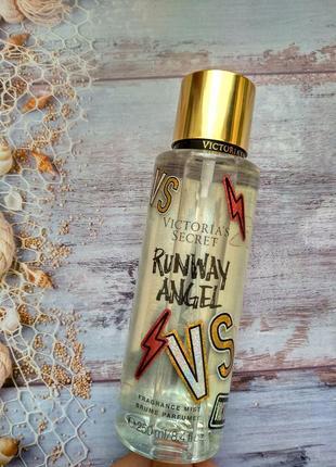 Парфюмированный спрей для тела от victoria's secret runway angel