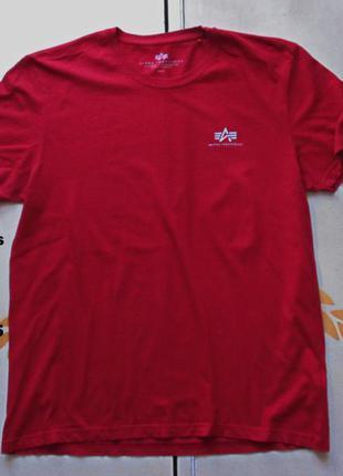 Alpha industries футболка размер xl