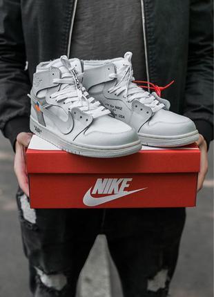 Air Jordan Retro 1 x Off white