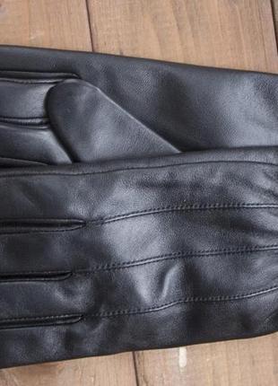 Кожаные женские сенсорные перчатки 941.все размеры
