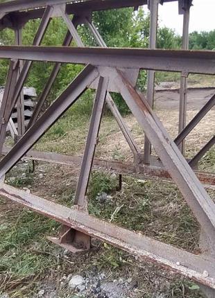 Фермы металлические б/у