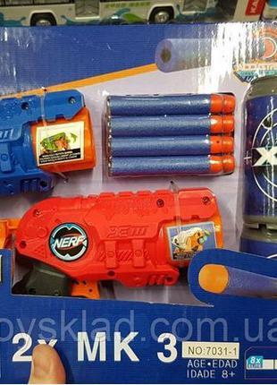 Набор Нерф с мишенью, паралоновые пули, NERF, детское оружие
