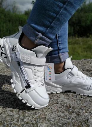 Стильні підліткові кросівки bessky. р-ри 32-35