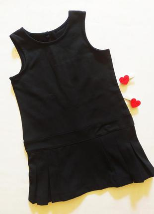 Трикотажное плотное платье туника jelly италия рост 104
