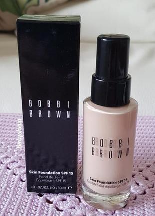 ⭐sale⭐bobbi brown skin foundation spf15 тональное средство