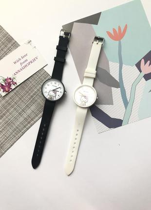 Часы наручные женские, часы с силиконовым ремешком