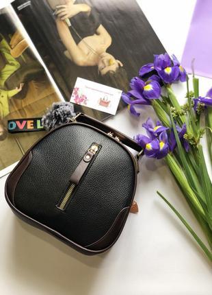Черная женская сумочка через плечо, сумка cross-body